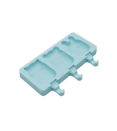 moldes silicona con tapa menta