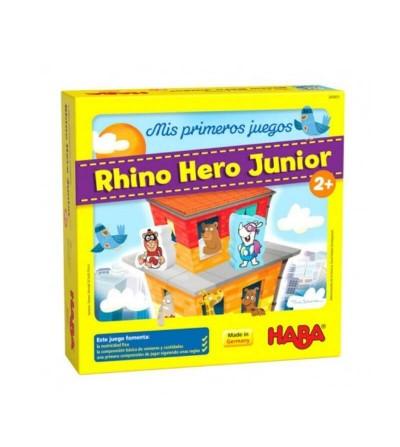 mis primeros juegos rhino hero junior