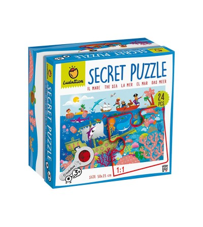 secret puzzle el mar ludattica