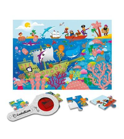 contenido puzzle el mar ludattica