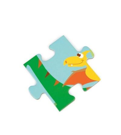 pieza puzzle mundo dinosaurios