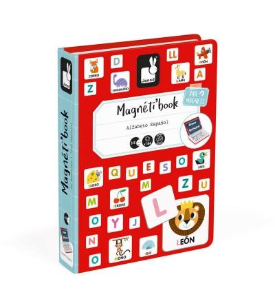 caja magnetibook alfabeto janod