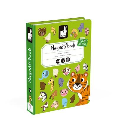 caja magnetibook animales