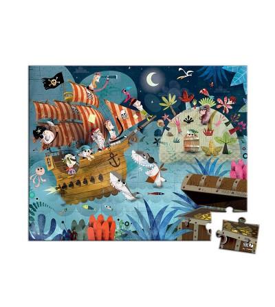 puzzle piratas janod