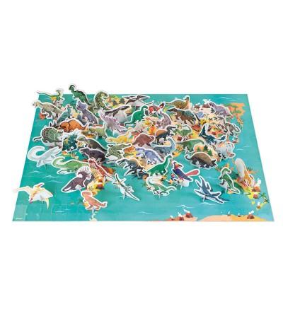 puzzle dinosaurios 200 piezas