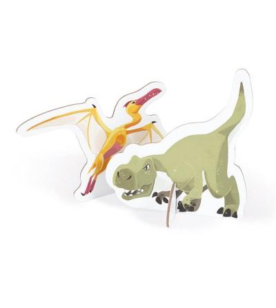Dinosaurus Construcción Gomaespuma