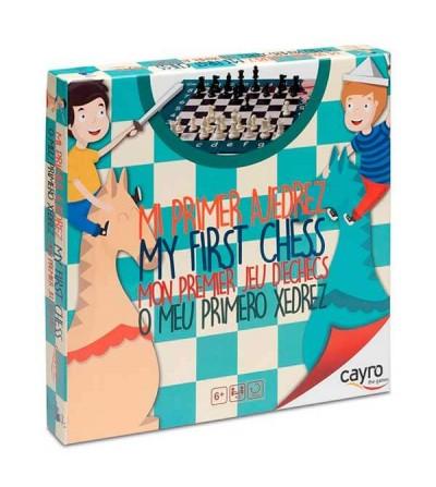 mi primer ajedrez cayro