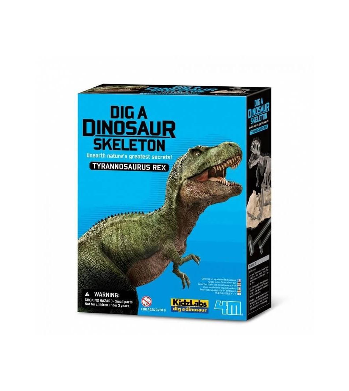 kit esqueleto tiranosaurio rex 4M